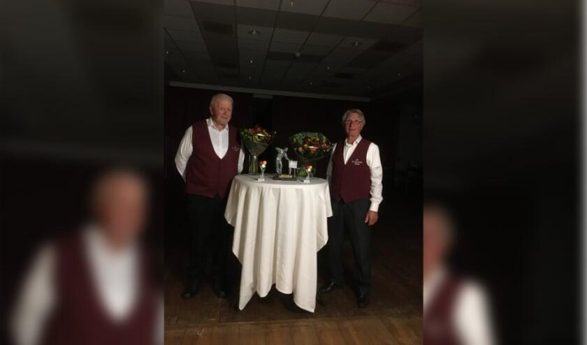 De beide finalisten van de Toon Brandts-trofee in Didam.