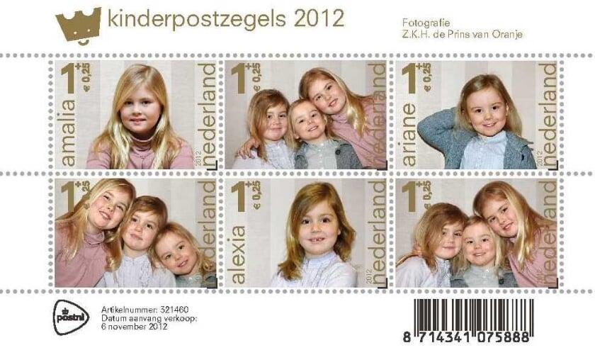 Prins Willem-Alexander fotografeerde, in navolging van zijn vade,r zijn eigen dochters Amalia, Alexia en Ariane voor de kinderpostzegels