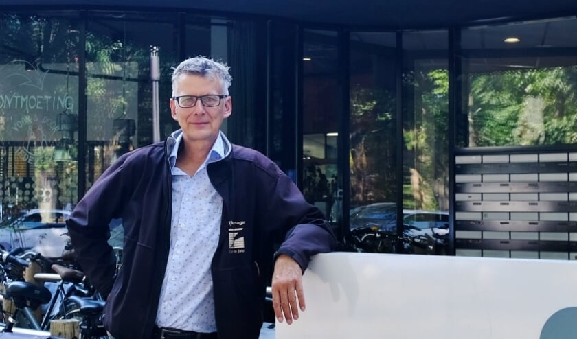 Bram Wispelweij is één van de vier wijkmanagers in Zeist.