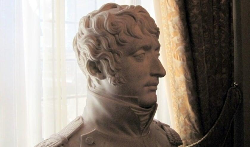 Borstbeeld van Koning Lodewijk Napoleon.