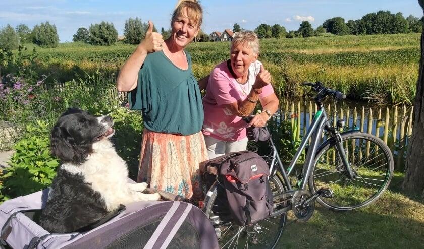 Kitty en Ria de jong, én Jari leggen 440 kilometer op de fiets af voor Keniaanse kinderen.