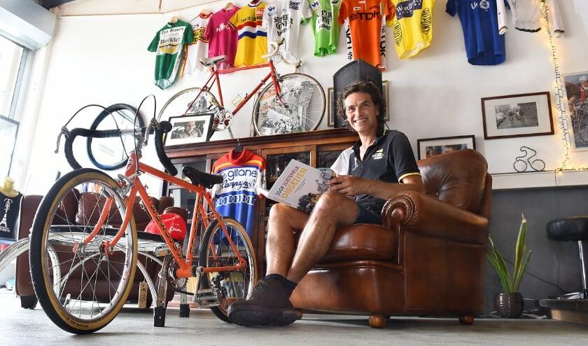 Gerrit Geuvers kijkt vooruit naar de Tour de France. (Foto: Roel Kleinpenning)