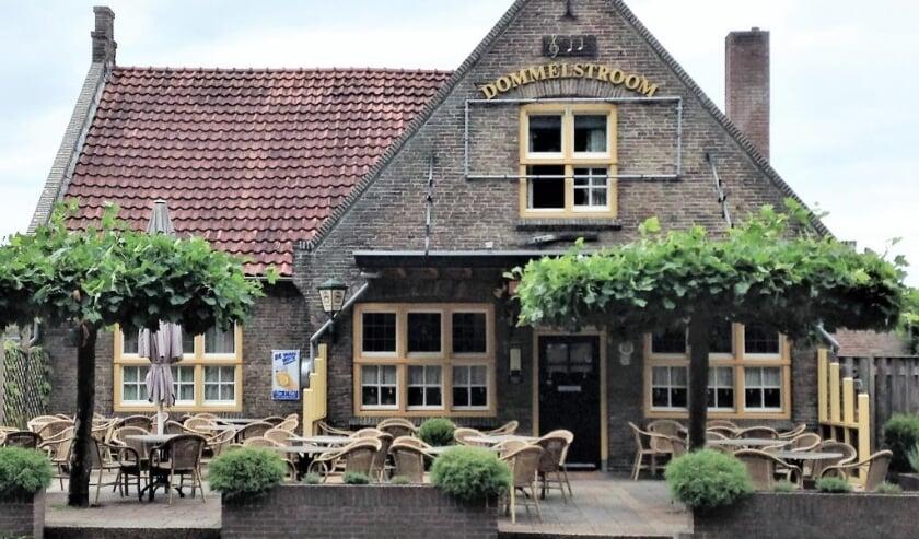 <p>Caf&eacute;-zaal De Dommelstroom aan de Bergstraat in Valkenswaard waar normaal gesproken het Alzheimer Caf&eacute; bij elkaar komt.</p>