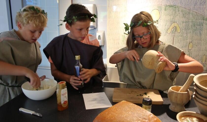 Wat at een Romein en hoe smaakt dat? Hoe verschilt het eten van vroeger met dat van nu?