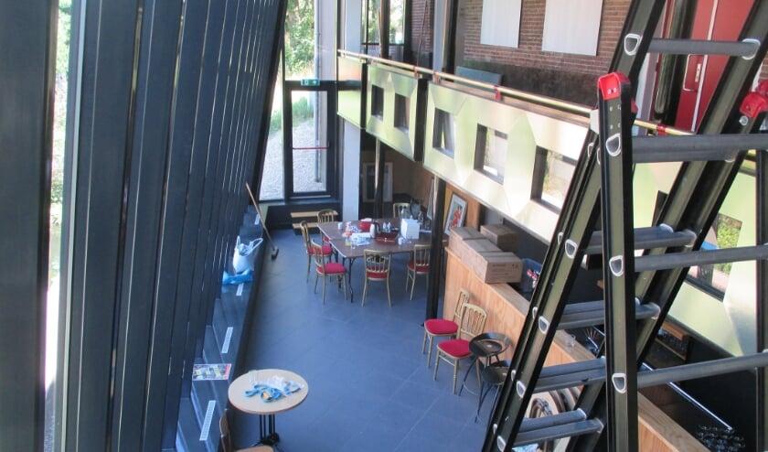 De foyer van theater De Fransche School is vernieuwd