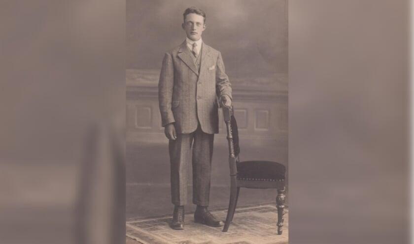 Jan van de Laar voor zijn arrestatie. Hij overleed op 18 augustus 1944 in Kassel, Duitsland.