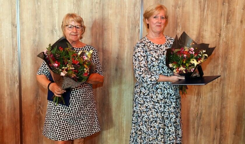 <p>Gerry van Haaren (links) en Nel Pijl. FOTO: Bert Jansen.</p>