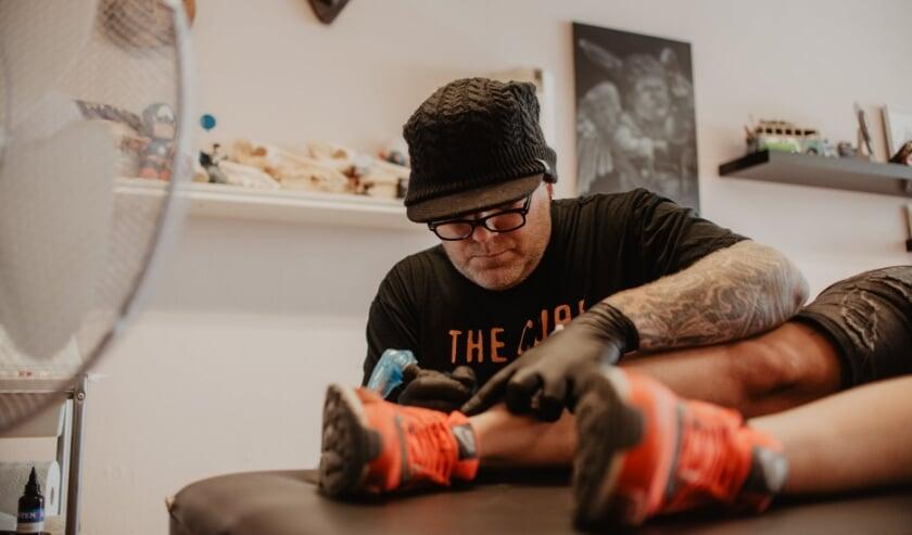 Elke tattoo wordt maar één keer gezet.
