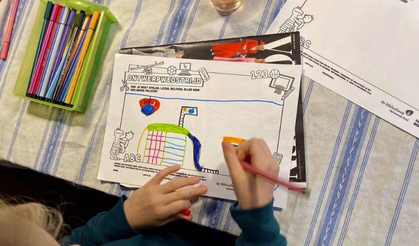 <p>Kinderen konden meedenken over het ontwerp.</p>