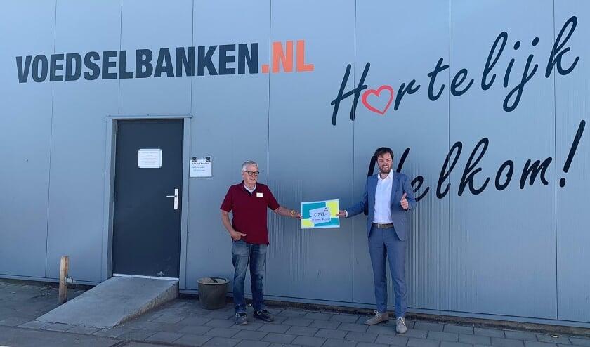 De voedselbank Hoeksche Waard met Jens de Jong.