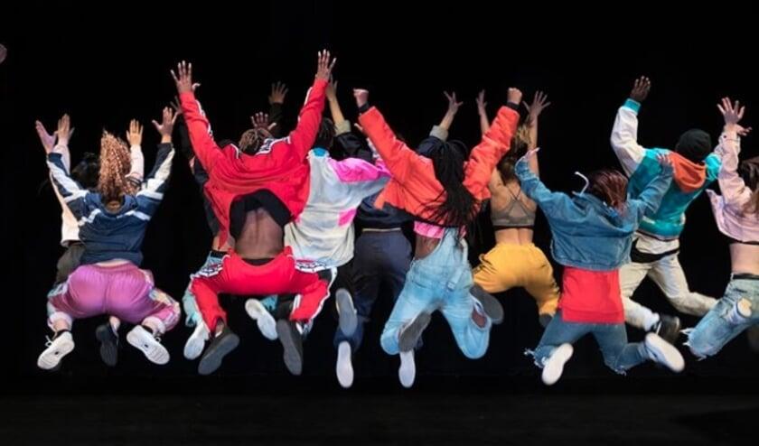 Urban dance crew.