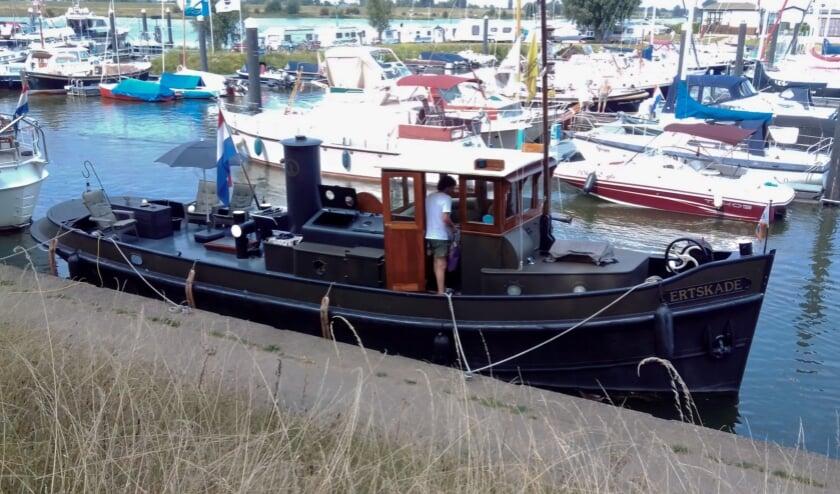Ertskade in de Culemborgse jachthaven