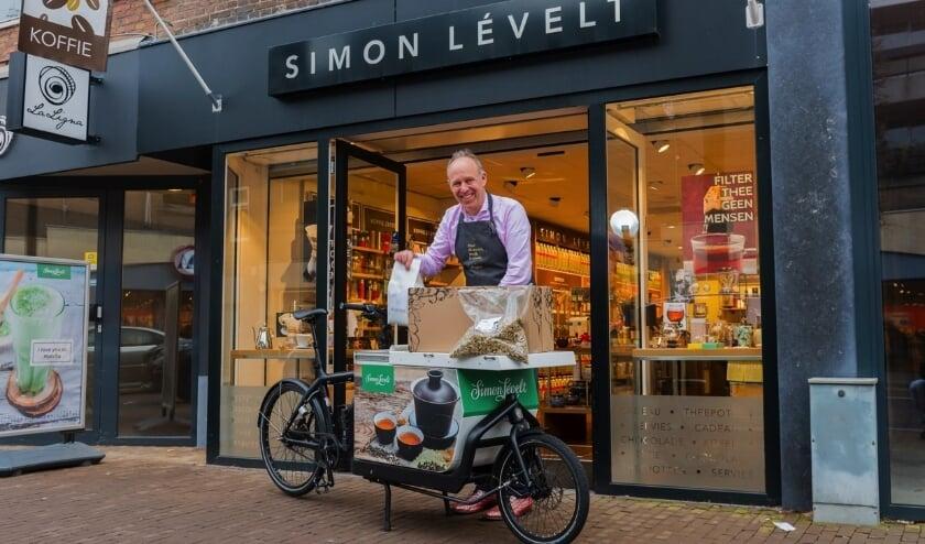 """Bas van Leeuwen: """"We moeten zuinig zijn op onze diversiteit aan winkels en horeca.""""Streamer: Ook bij thuiswerken is er behoefte aan goede koffie."""""""