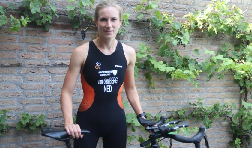Triatlete Marit van den Berg uit Culemborg