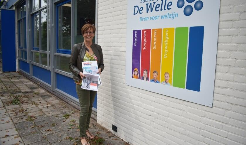 Ria Maassen van den Brink is coördinator van het Taalpunt en is betrokken bij de organisatie van de Taalwandeling. (Foto: Van Gaalen Media)