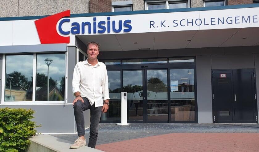 Peter ten Dam is de nieuwe directeur Canisius Almelo (Foto: Canisius)