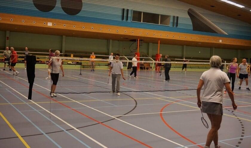 <p>Heerlijk een uurtje badminton spelen bij B.C. Zeist.</p>