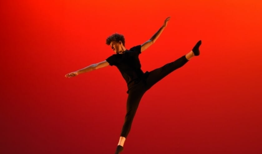 <p>Sem Houmes, De derdeprijswinnaar in de categorie dans. FOTO Andr&eacute; Joosse</p>