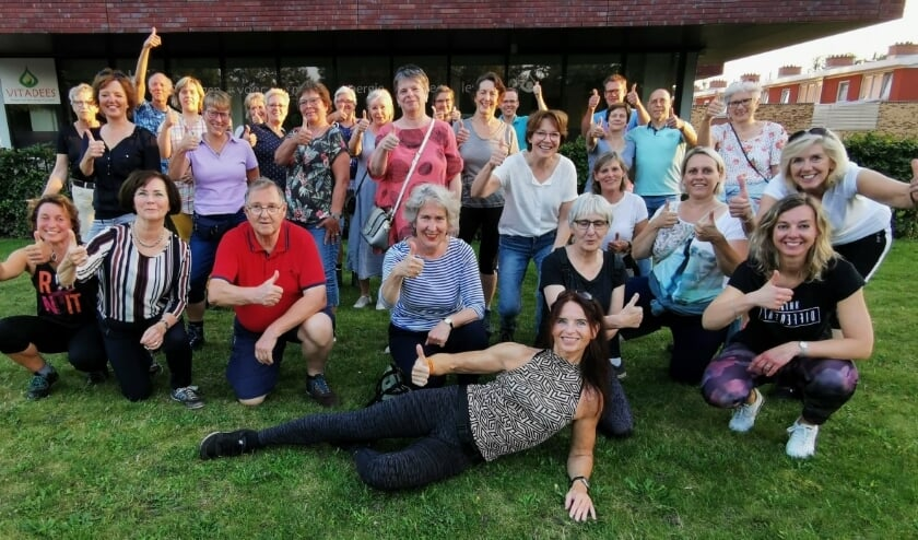 <p>De enthousiaste leden van Vitadees. (Foto: PR)</p>