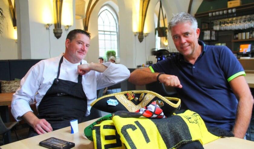 KOIJ-voorzitters Jos Epping en Erik Jan van Zwieten laten de moed niet zakken: de KOIJ denkt na over alternatieven. (Foto: Lysette Verwegen)