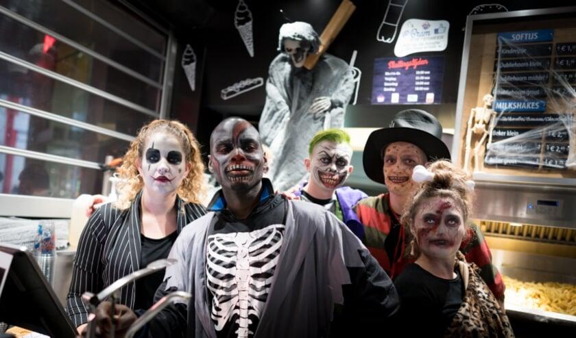 <p>Aangepaste viering Halloween. Foto: Roy Poots</p>