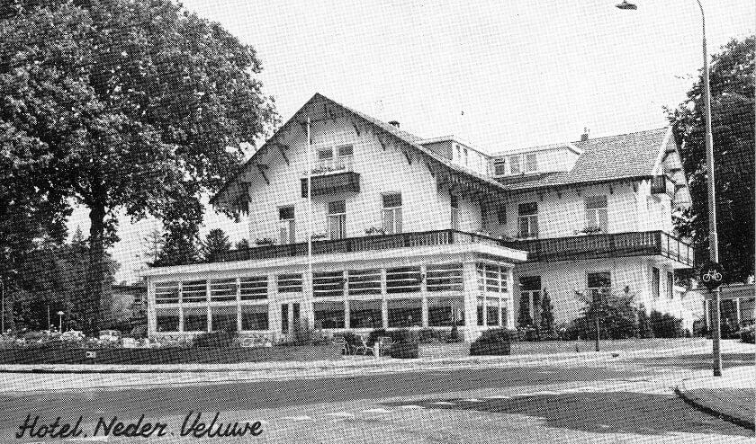 Hotel Neder Veluwe werd in 1884 gebouwd.