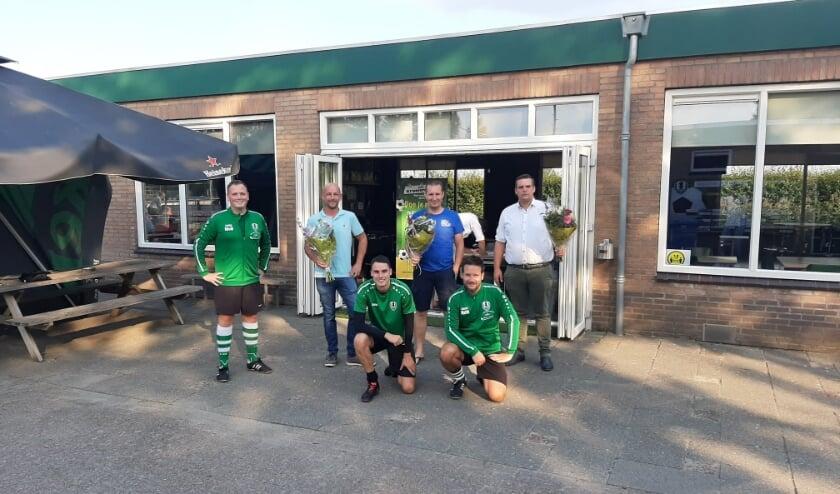 Sponsoren en trainers VV Tricht jeugdplan
