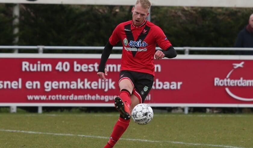 Daan Burgering is klaar voor Berkel foto: Vitesse Delft
