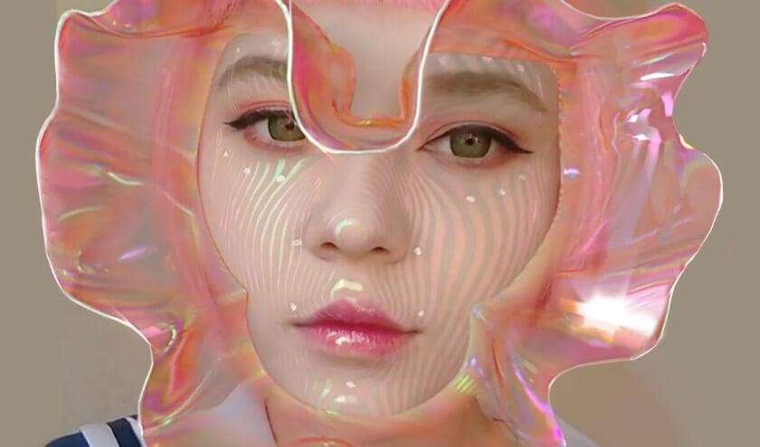 <p>Het &#39;3D Make-up filter&#39; van kunstenaar Ines Alpha verlegt de grenzen van schoonheid.</p>