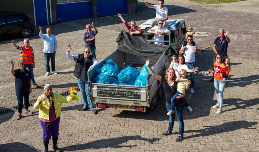 Het resultaat van de World Cleanup Day in Geldermalsen