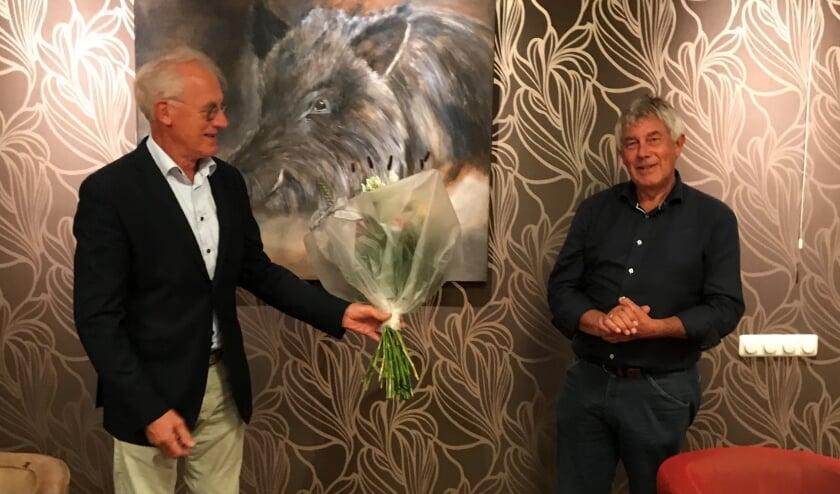 Ton Heddema neemt de voorzittershamer over van Geert Jan van Ark.