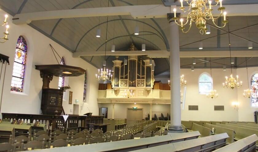 <p>Zo ziet de Oude Kerk er van binnen uit. (Foto: pr)</p>