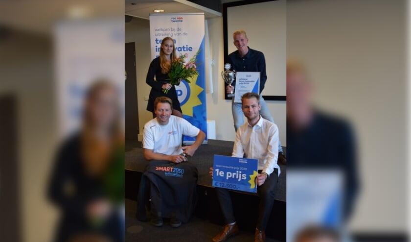 <p>De winnaar van de TIP 2020 ROC van Twente: Team SMART2050</p>