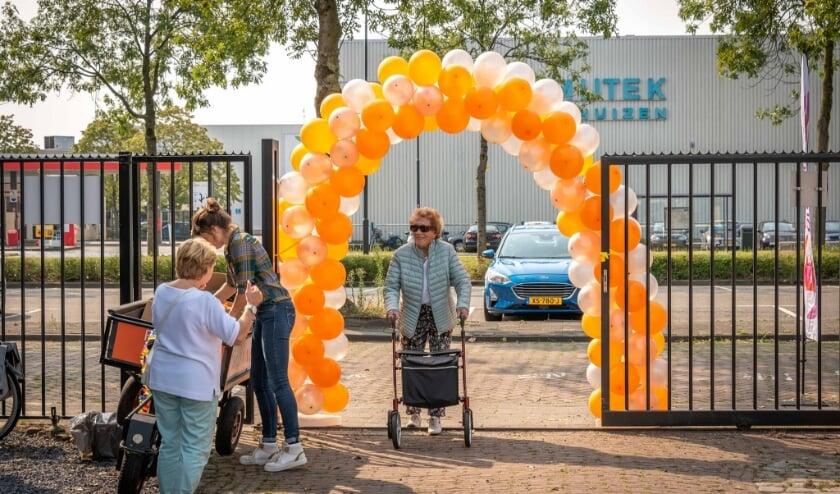 Rollatorloop vrijdag jl. in Breda