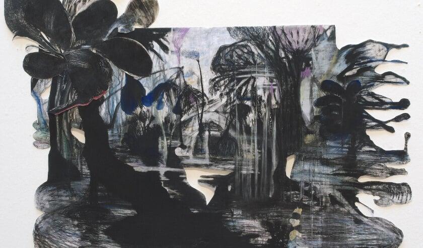 <p>Marit Dik: Bialowieza Forest, 2020, olieverf op linnen, 120 x 175 &nbsp;</p>