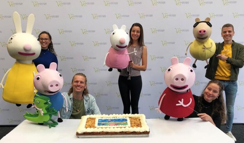 <p>Peppa Pig in Theater Koningshof.</p>