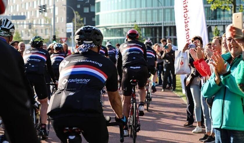<p>Op de fiets geld ophalen voor de Hartstichting? Het kan zondag 27 september. Foto: Cycle & Friends</p>