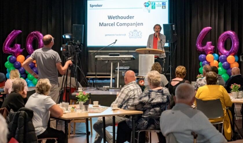 <p>Mooie woorden van wethouder Marcel Companjen mochten niet ontbreken.&nbsp;</p>
