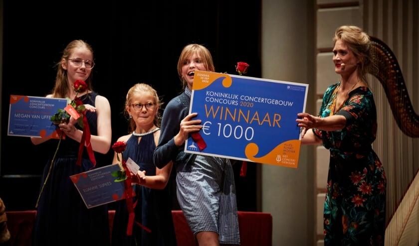 <p>Als winnaar ontving Jala een geldprijs. Ook mag ze een keer optreden in de kleine zaal van het Concertgebouw&nbsp;</p>