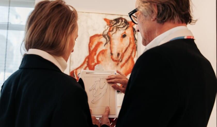 Eye Can (t) See Art bevat  onder andere een tactiel tekenpad waarmee je voelbare tekeningen maakt.