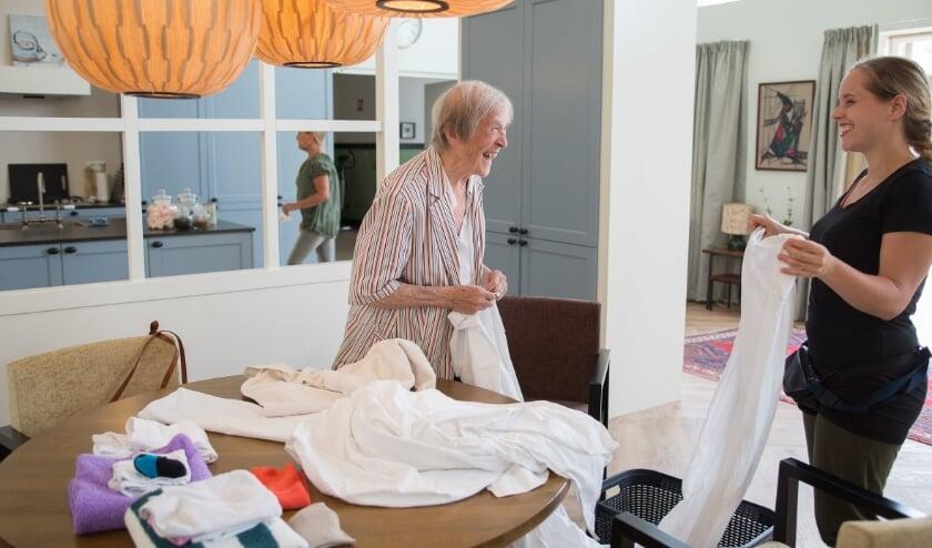 Aan de Veldweg in Best verrijst September, een woonhuis speciaal voor ouderen met dementie. Het is een plek waar liefde, aandacht en betrokkenheid centraal komen te staan. Foto: Iowah Munters