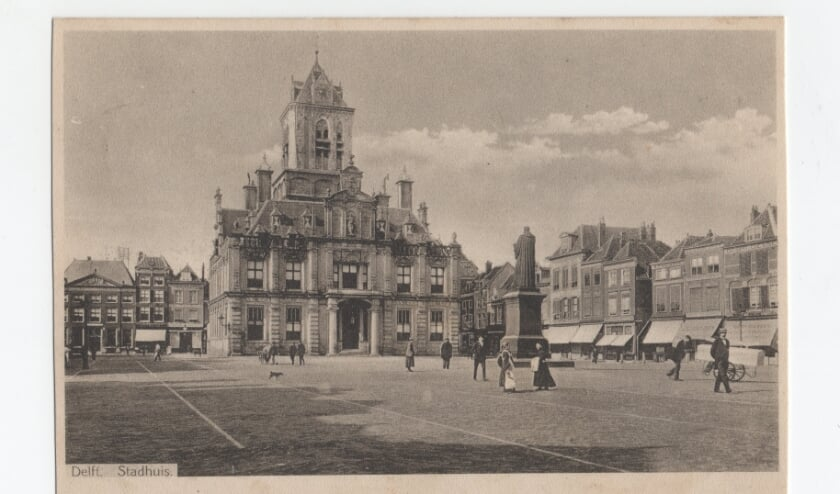 <p>De Markt in 1915</p>