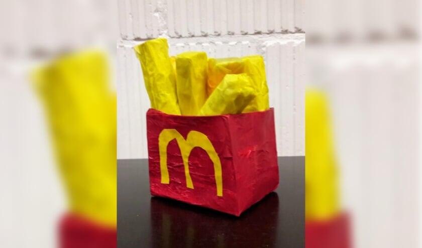 werkstuk 3D kunst