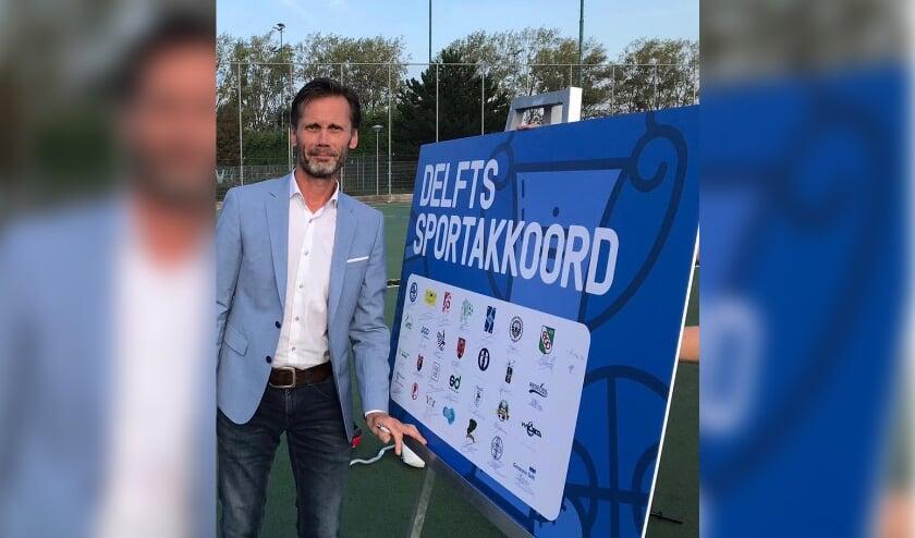 <p>Victor Brouwer, betrokken als sportformateur bij het Lokaal Sportakkoord en nu begeleider van de nieuwe werkgroep Sport en Corona.</p>