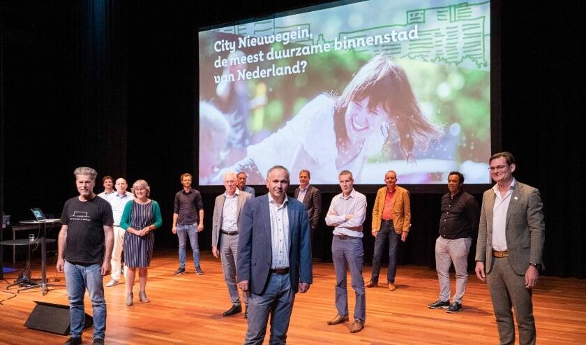 <p>In stadstheater De KOM vond donderdag de aftrap plaats van Water Circulair Nieuwegein City. Foto: Neeltje Kleijn</p>