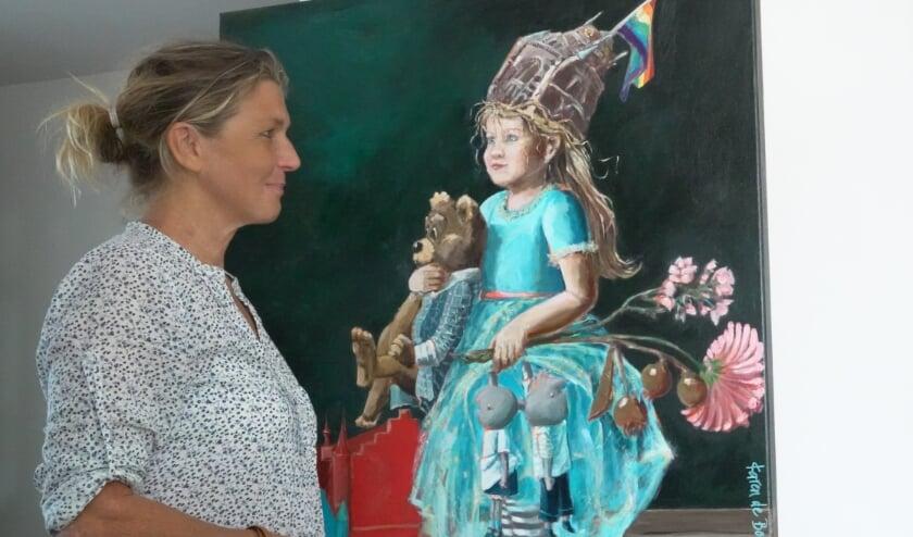 Karen de Bondt vond het tijd voor een Bommelerwaards icoon en bedacht Bommelaertje. Een meisje dat op avontuur gaat in de Bommelerwaard. Het boek is vanaf deze week te koop.