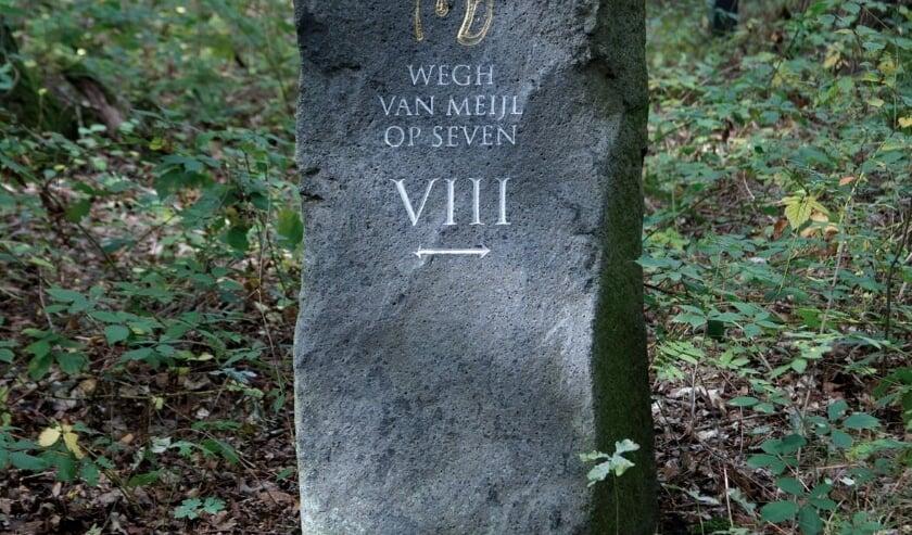 <p>De weg van Meijel op Seven, zuil 8 wijst de weg. Foto: Henk Steeghs.</p>