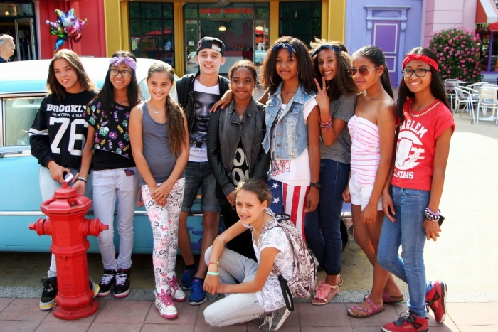 Capelse jongeren in Walibi Leo snijders © DPG Media