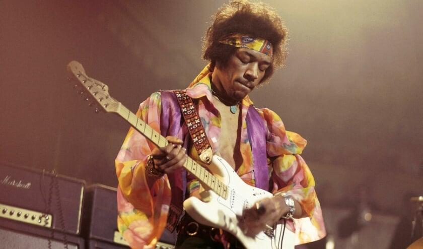 Jimi Hendrix zoals iedereen hem kent
