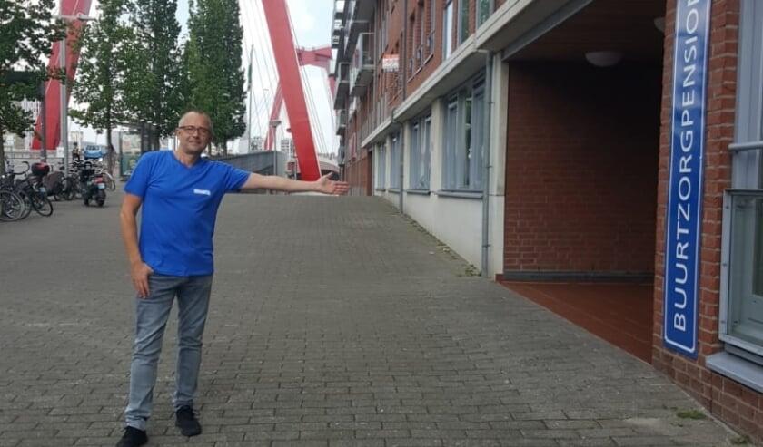 Gastheer Buurtzorgpension Wil van der Schoor.